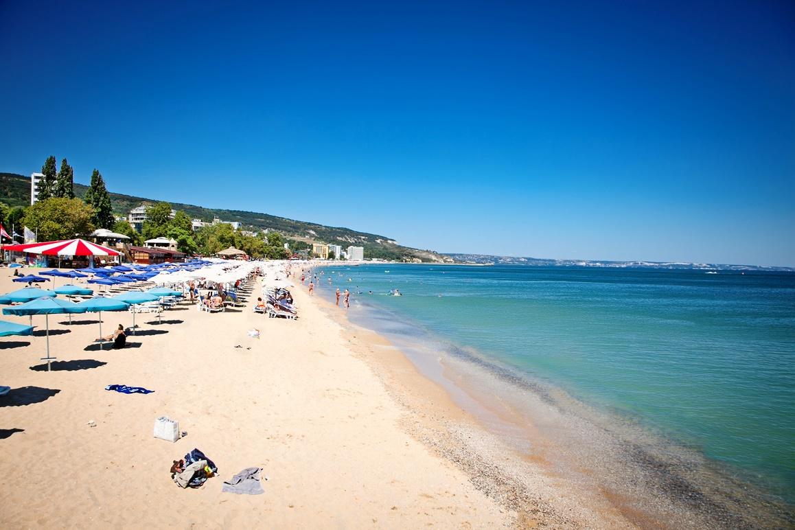 Pláž ve Varna